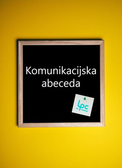 Komunikacijska abeceda