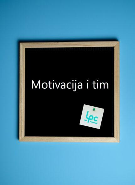 Motivacija i tim