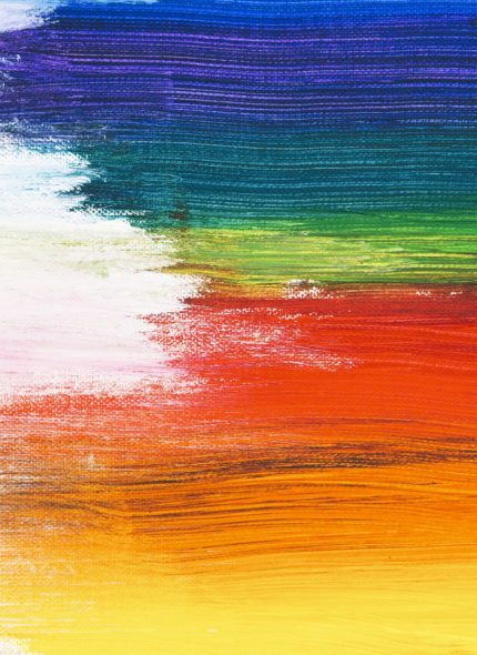 Colorful brush stroke textured background
