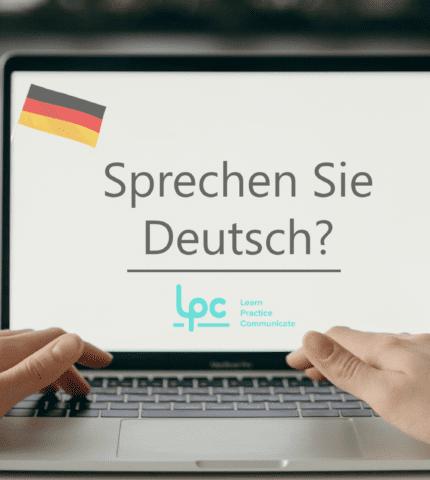 sprachen sie deutsch