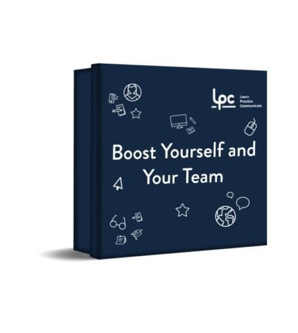 Boost yourself and your team